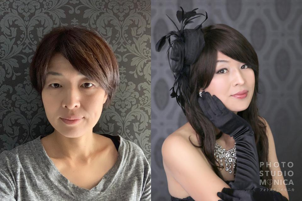 モニカ2019花魁ドレス体験モニター半額キャンペーン
