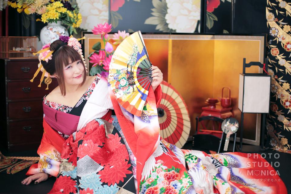 写真:古典風花魁×全データセットプラン!