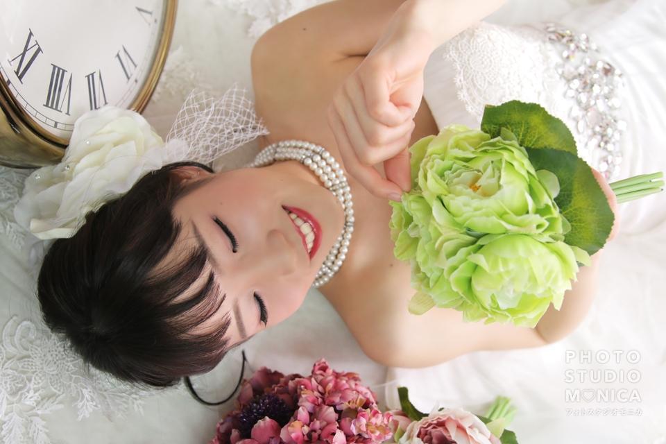 写真:ウェディングドレスで素敵な淑女に変身撮影☆