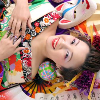 写真:【古典風花魁】笑顔が素敵な古典風花魁さん☆