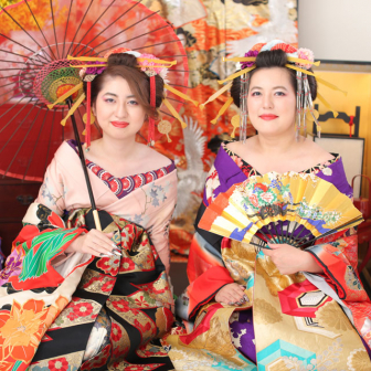 写真:煌びやかに、ドレス &花魁全カットプラン☆