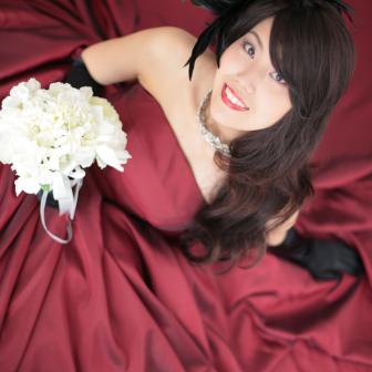 写真:カラードレスで豪華に!ドレス撮影☆