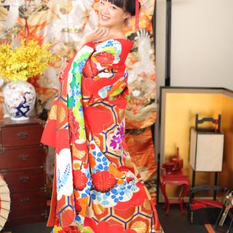 写真:海外からのお客様の花魁体験スタジオ撮影☆