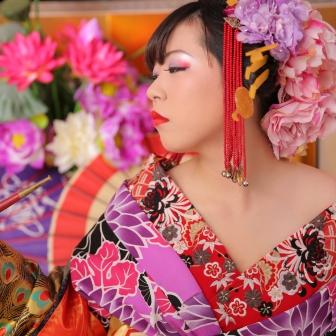 写真:姫の様にしとやかに!純和風の可愛い古典風花魁体験