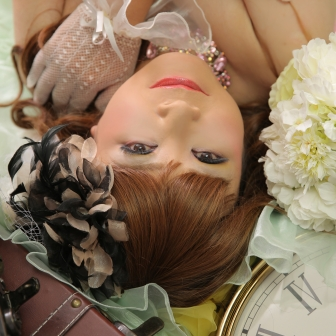 写真:ご自身の記念に花魁とドレスで美しい姿を撮影