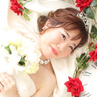 写真:ウェディングドレス変身撮影♡