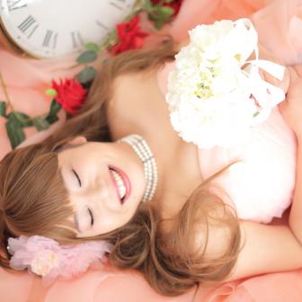 写真:ドレス花魁プランでスタジオ撮影☆