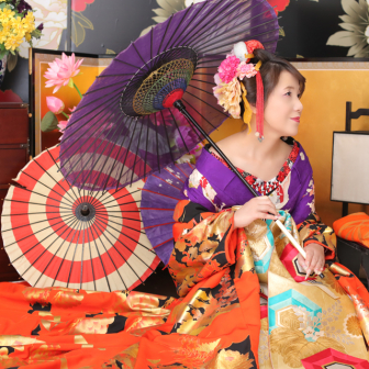 写真:美男美女、カップル花魁撮影♡