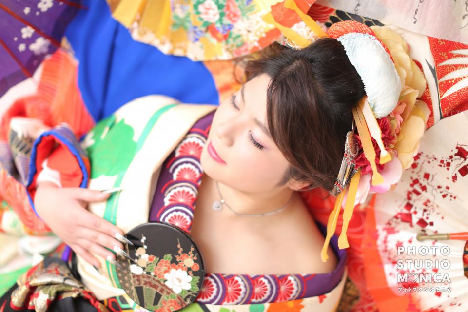 写真:艶やか♡古典風花魁撮影♡