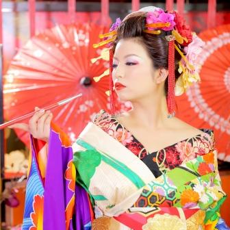 写真:【古典風花魁】色気溢れる艶やかな花魁♡