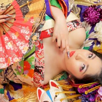写真:【古典風花魁】人気の鳳凰の打掛けで大人っぽく艶やかに!