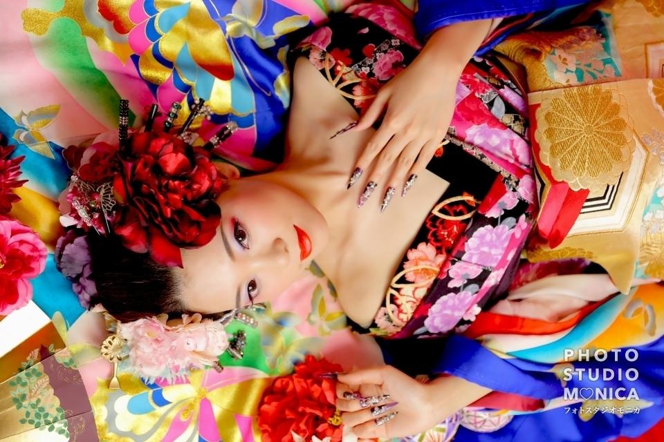 写真:【現代風花魁】カッコイイ大人な雰囲気に可愛さをプラス⭐️