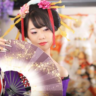 写真:花魁&ドレス 姿で華麗に変身撮影♡