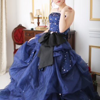 写真:人気のドレス&花魁撮影プランでスタジオ撮影♪