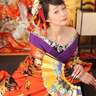 写真:京都東山でスタジオ花魁撮影♪