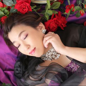 写真:カラードレス + 花魁スタジオ撮影☆