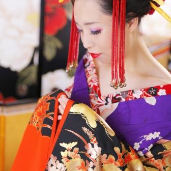 写真:美しく妖艶!古典風花魁撮影!