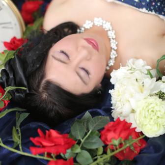 写真:フォトスタジオモニカの花魁ドレスプラン